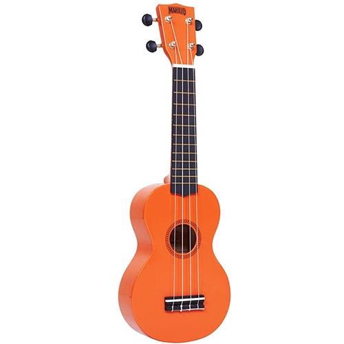 Mahalo Soprano Uke w/bag Orange
