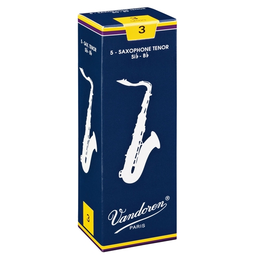 Vandoren Traditional Tenor Sax Reeds  #2.5