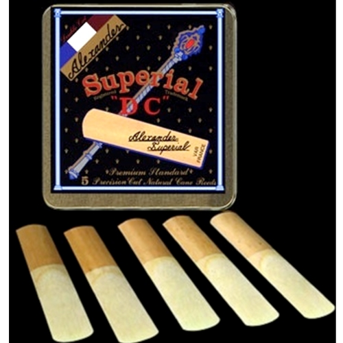 Superial DC Clarinet Reeds 2.5
