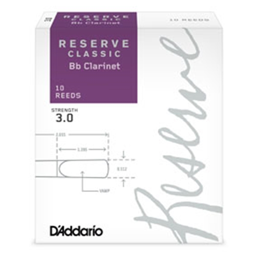 Rico Reserve Clarinet Reeds #2