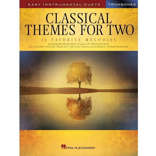 Classical Themes for Two Trombones - Easy Instrumental Duets
