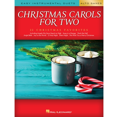 Christmas Carols for Two Alto Saxophones - Easy Instrumental Duets