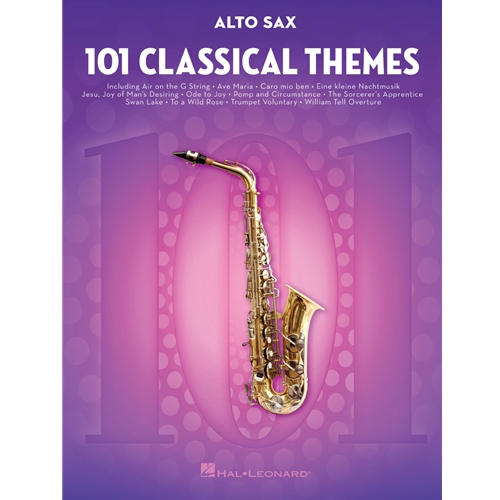 101 Classical Themes for Alto Saxophone