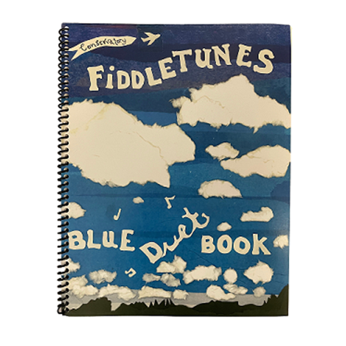 Conservatory Fiddletunes Blue Duet Book Violin with CD