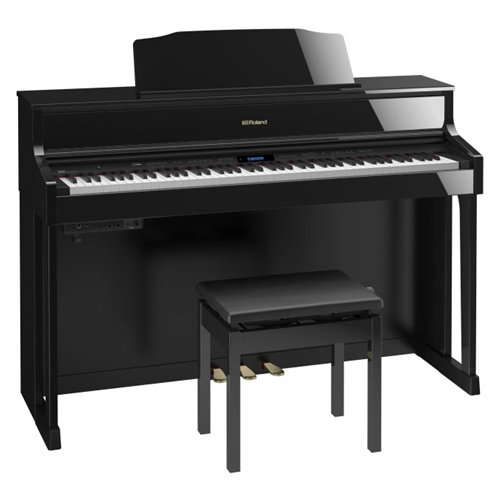 Roland HP605 Digital Piano Black With Bench