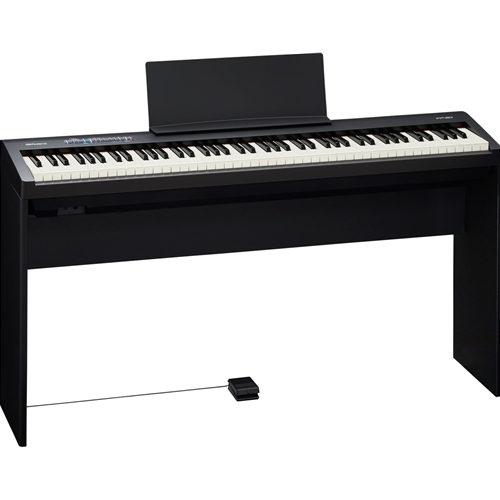 Roland FP-30 Digital Piano With Stand - Black