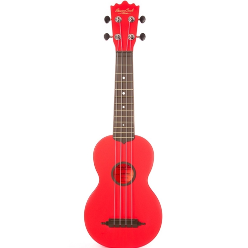 BC Ulina Ukulele with Bag Red